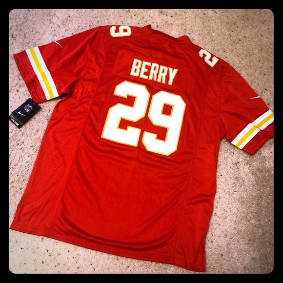 quality design 8e81a ff36b Authentic NFL KC Chiefs Berry Jersey NWT NWT